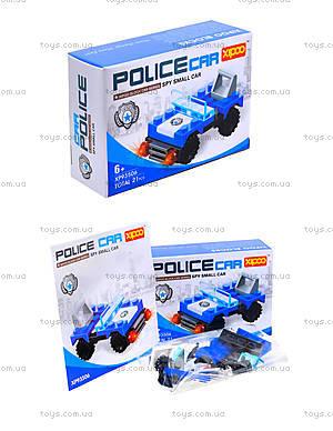 Конструктор для детей «Полицейская машина», XP93506