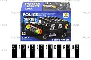 Конструктор для детей «Полицейская машинка», SM290