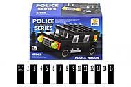 Конструктор для детей «Полицейская машинка», SM290, купить
