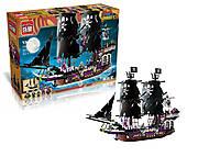 Конструктор для детей «Пиратское судно», 1535 деталей, 1313, отзывы