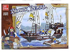 Конструктор для детей «Пираты», 30009, отзывы