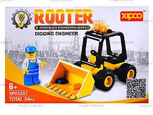 Конструктор для детей «Трактор», XP93301, купить