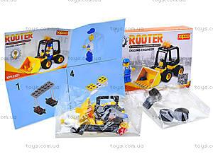 Конструктор для детей «Трактор», XP93301, фото