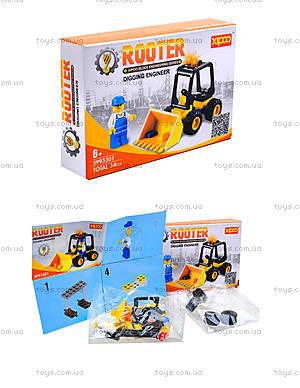 Конструктор для детей «Трактор», XP93301