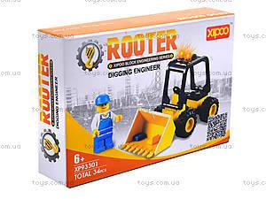 Конструктор для детей «Трактор», XP93301, отзывы