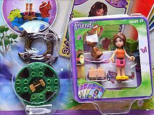 Детский конструктор для девочек «Друзья», 41036, фото