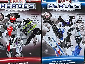 Конструктор «Earth Heroes», F1306-4, отзывы