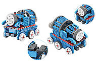 Конструктор электронный 150 деталей сенсорный (машинка, поезд), LYH-B722, фото