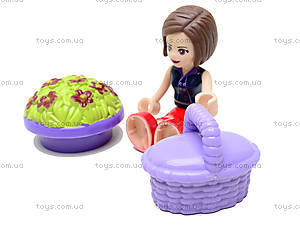 Конструктор Fashion Girls, 189 деталей, 5228, toys.com.ua