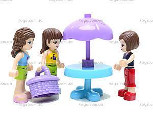 Конструктор Fashion Girls, 189 деталей, 5228, купить игрушку