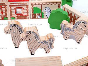 Конструктор «Ферма», 42 детали, 7678-2, детские игрушки
