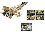 Конструктор Field Army «Военный самолёт», 84021, отзывы