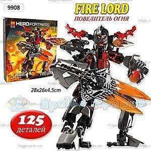 Конструктор Fire Lord, 125 деталей, 9908