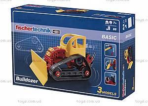 Конструктор fisсhertechnik ADVANCED Бульдозер, FT-520395