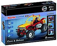 Конструктор fisсhertechnik PROFI Машины и Aвтo, FT-516184, отзывы