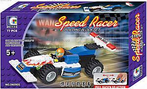 Конструктор «Формула 1», 77 деталей, 040905