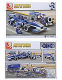 Конструктор Formula Car 2, 196 деталей, M38-B0351