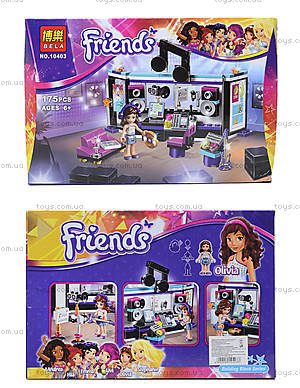Детский конструктор Friends, 175 деталей, 10403