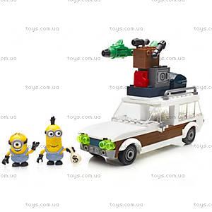 Детский конструктор Mega Bloks «Фургон миньонов», CNF56, отзывы