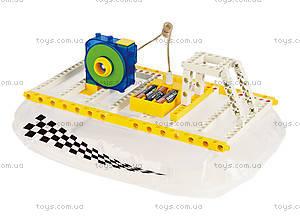 Конструктор Gigo «Катер на воздушной подушке», 7366, детские игрушки
