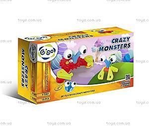 Конструктор Gigo «Сумасшедшие монстры», 7261