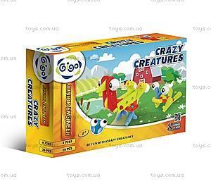 Конструктор Gigo «Сумасшедшие создания», 7265