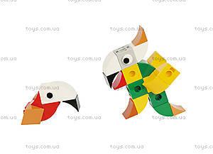 Конструктор Gigo «В мире животных. Попугай», 7259, купить