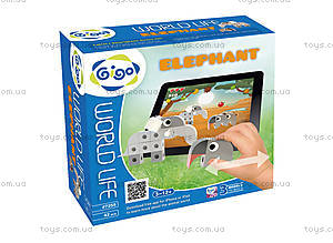 Конструктор Gigo «В мире животных. Слон», 7255