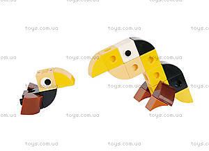 Конструктор Gigo «В мире животных. Тукан», 7260, фото