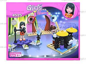 Конструктор GIRLS, 116 деталей, 4525