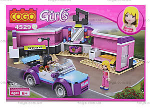 Конструктор GIRLS, 335 деталей, 4529
