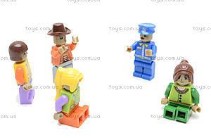 Конструктор «Город», 104 детали, 25407, магазин игрушек
