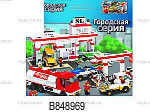 Конструктор «Городская серия», 727 элементов, M38-B2900R