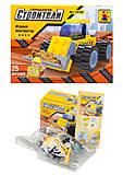 Игровой конструктор «Городские строители», 25 деталей, 29102