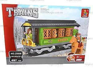 Конструктор «Гостевой вагон», 25606, магазин игрушек