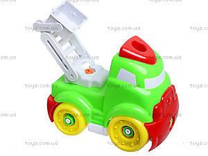 Конструктор-грузовик для детей, YZ881-1, фото