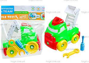Конструктор-грузовик для детей, YZ881-1