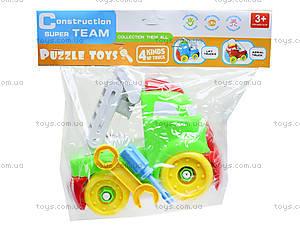 Конструктор-грузовик для детей, YZ881-1, игрушки