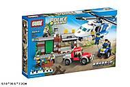 Конструктор GUDI «Полиция», 628 деталей, 9319