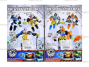 Конструктор-трансформер Hero Factory, 301302303304, отзывы