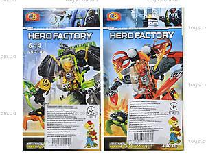 Конструктор детский с героями Hero Factory, 44014-44019, купить