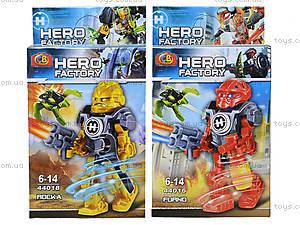 Конструктор детский с героями Hero Factory, 44014-44019, фото