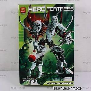 Конструктор Hero Fortress, 60 элементов, 9934