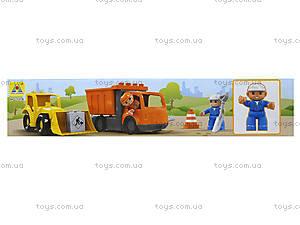 Детский конструктор «Стройка», 72 детали, HG-1274, фото