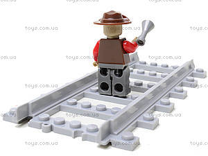 Конструктор «Игрушечный поезд», 25812, игрушка