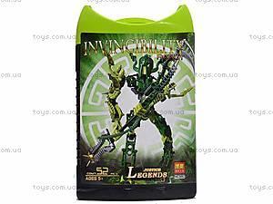 Конструктор Invinciblity Robot, с оружием, 9860-9865, купить