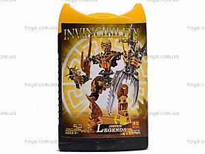 Конструктор Invinciblity Robot, с оружием, 9860-9865, отзывы