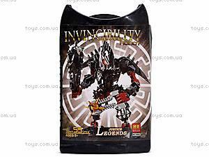 Конструктор Invinciblity Robot, с оружием, 9860-9865