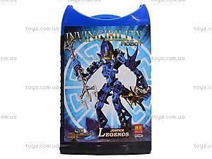 Конструктор Invinciblity Robot, с оружием, 9860-9865, детские игрушки