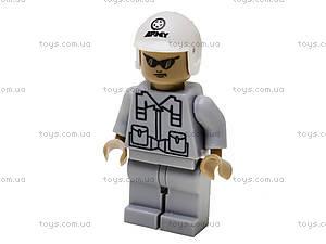 Конструктор «Истребитель», 228 элементов, 22501, игрушки